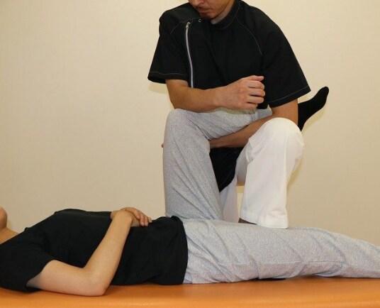 股関節を調整する方法2