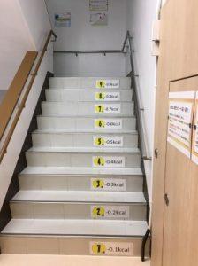 階段で運動不足解消しませんか?